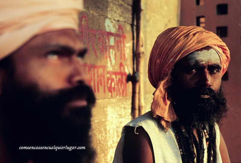 santones hindúes