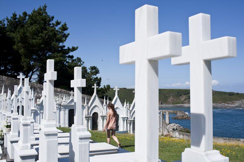 Cementerio de Luarca, Asturias.