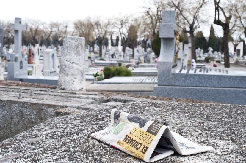 Cementerio de la Almudena, Madrid.