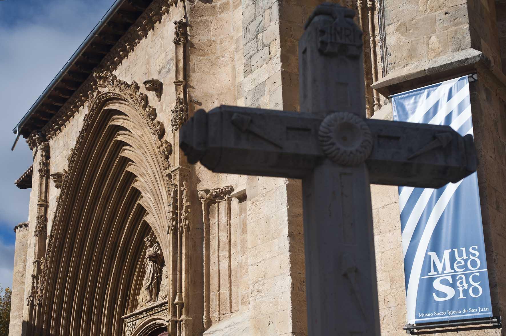 Iglesia de San Juan Museo de arte sacro Aranda de Duero