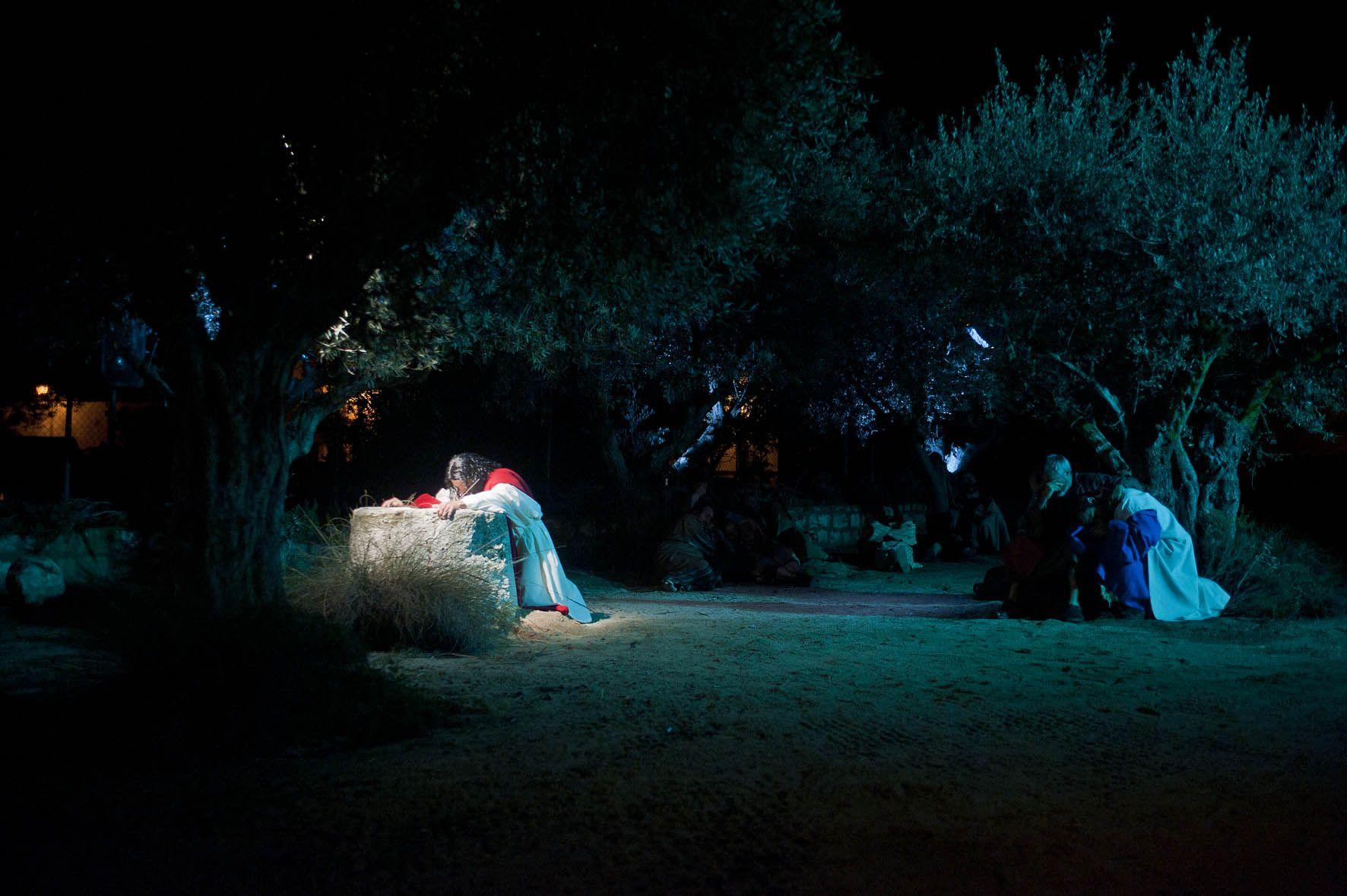 El huerto de los olivos, La Pasión Chinchón.
