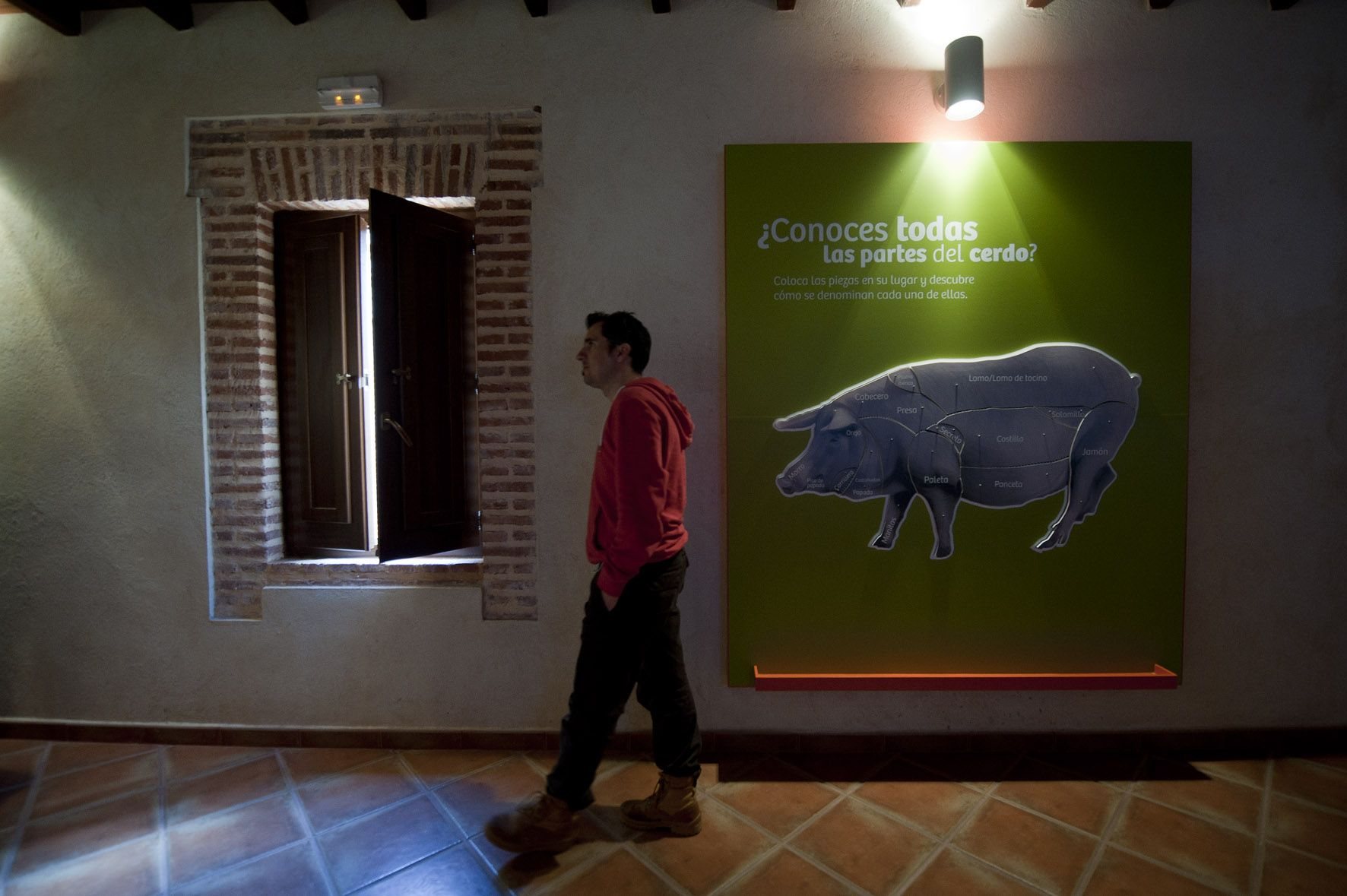 Centro de interpretación del cerdo CICI, Higuera de la real
