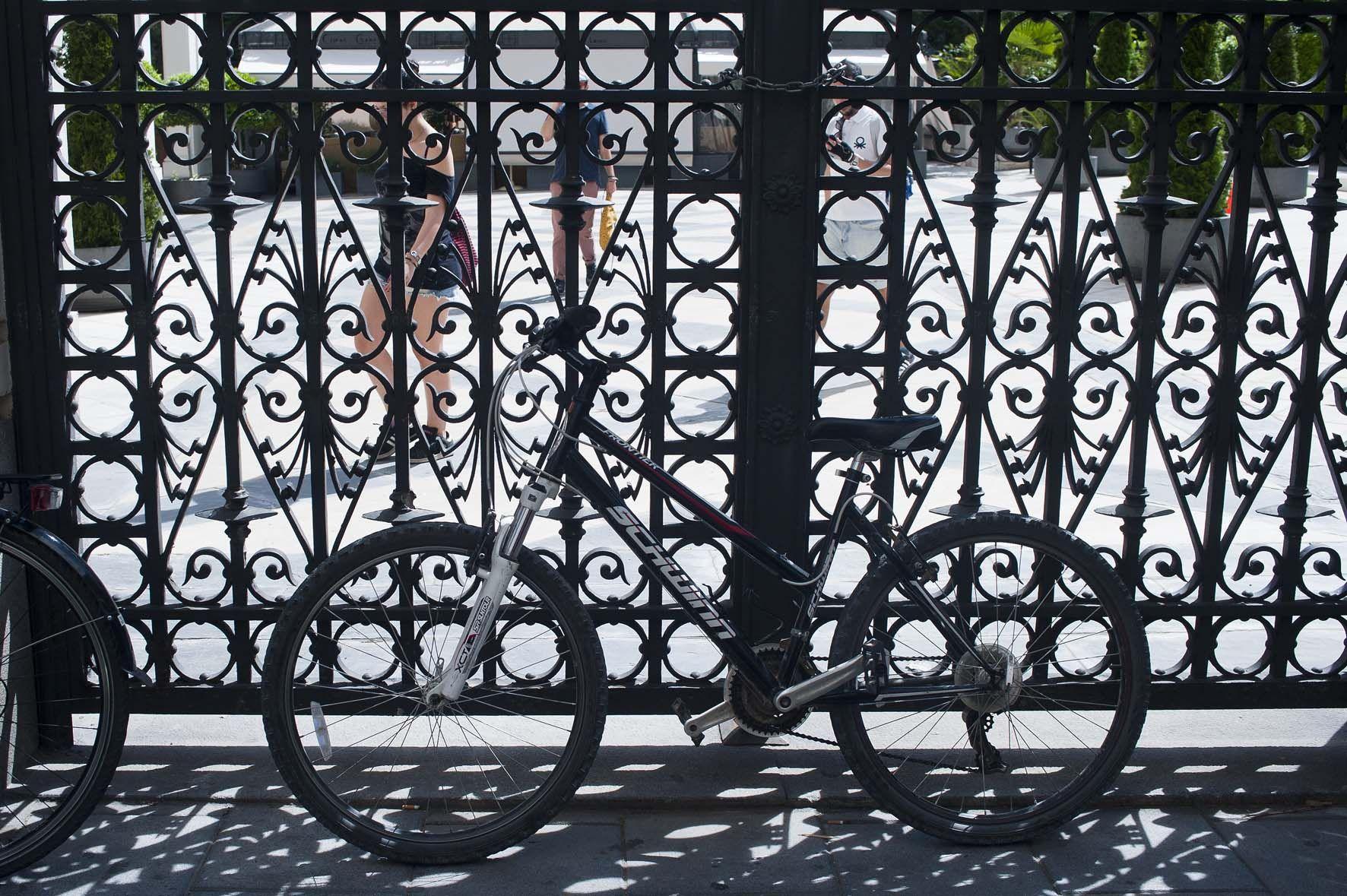 Ruta en bicicleta, Jardines escondidos de Madrid, Jardin de Riera