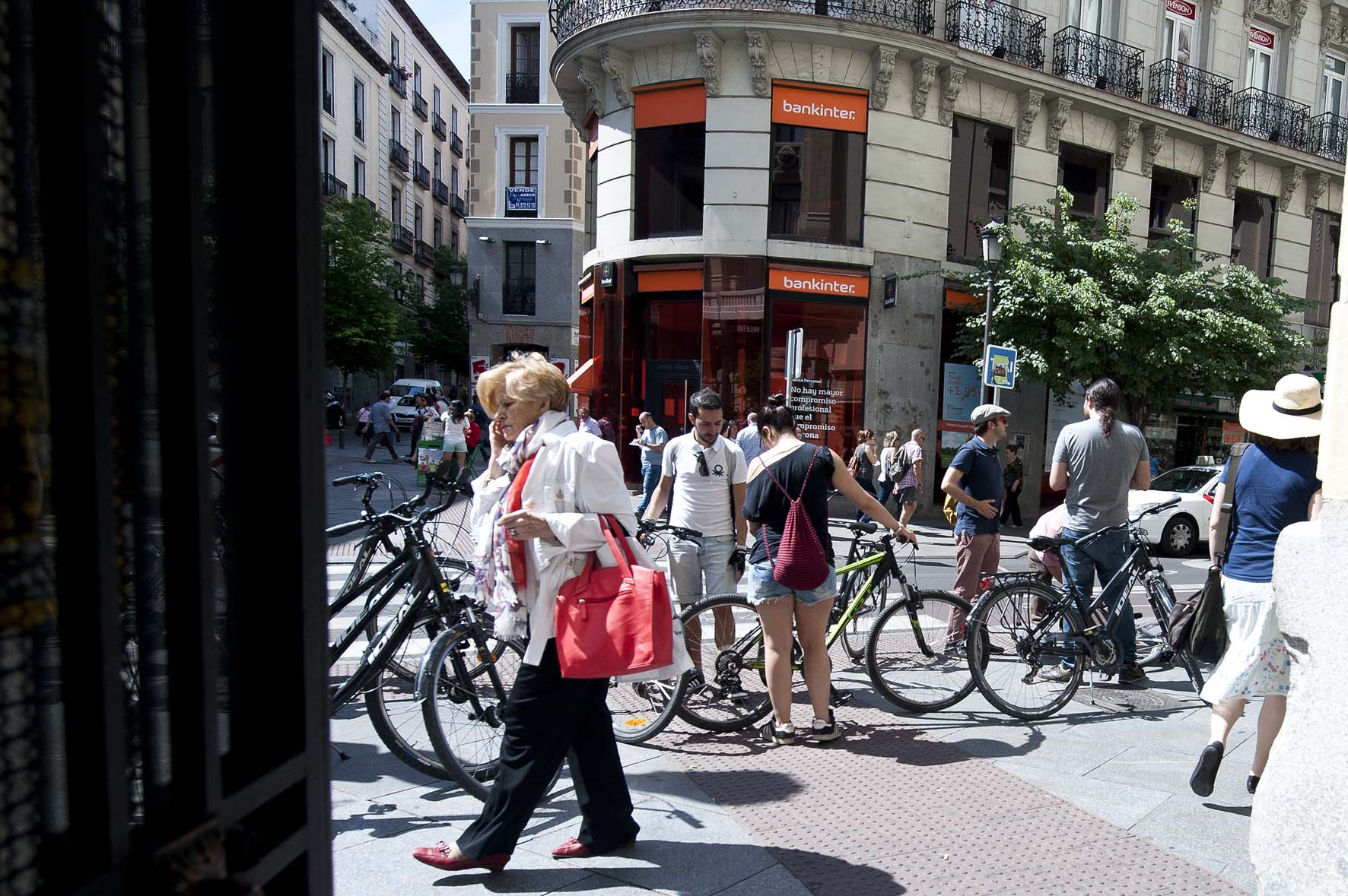 Rutas en bicicleta por Madrid, Calle Mayor