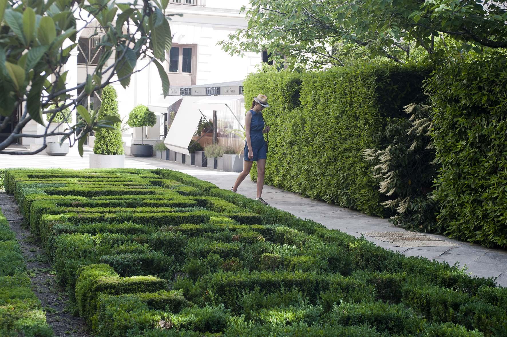 Jardines escondidos de madrid en bici for Casa jardin madrid