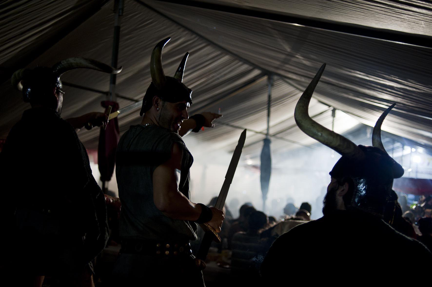 Romería Vikinga Catoira Pontevedra