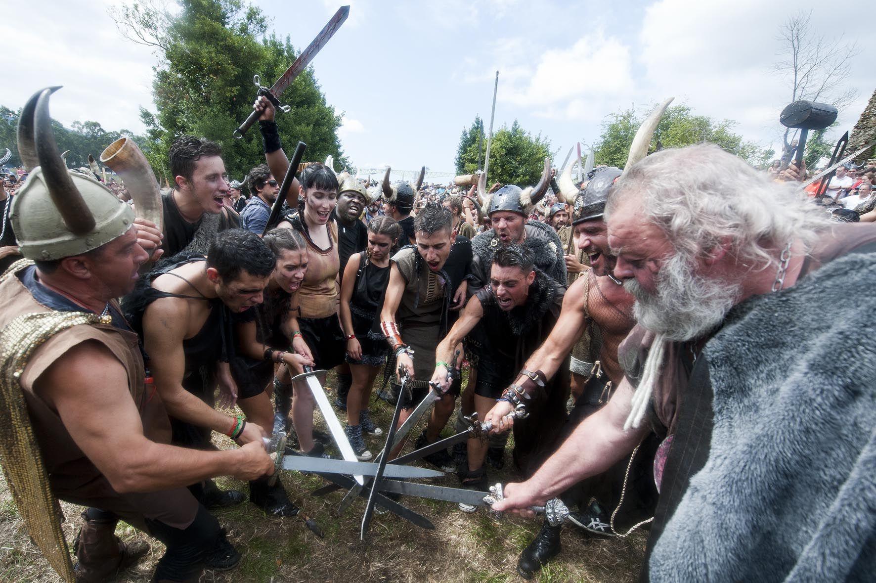 Romería Vikinga Catoira, Pontevedra