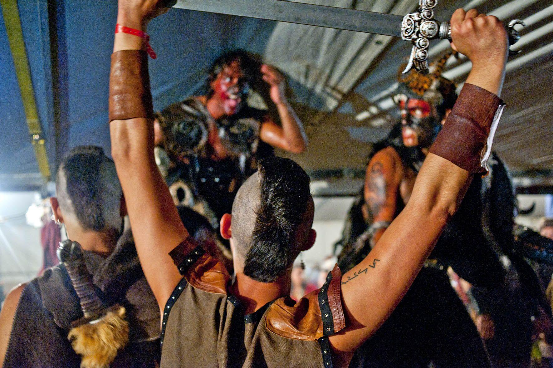 Vikingos en Galicia: Romería Vikinga de Catoira, Pontevedra