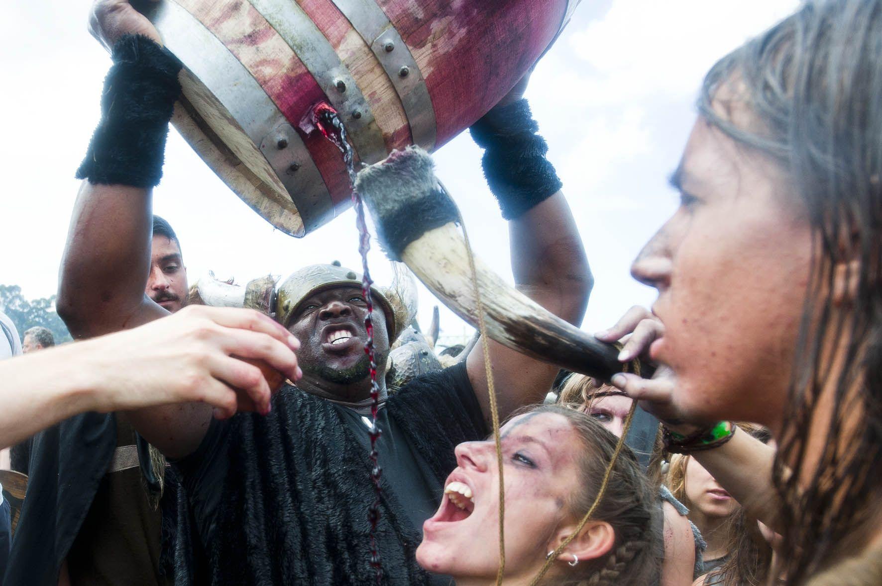 Fiesta Vikinga de Catoira, Galicia