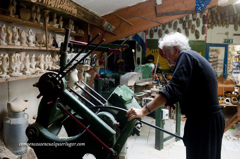 Visita fabrica de zuecos
