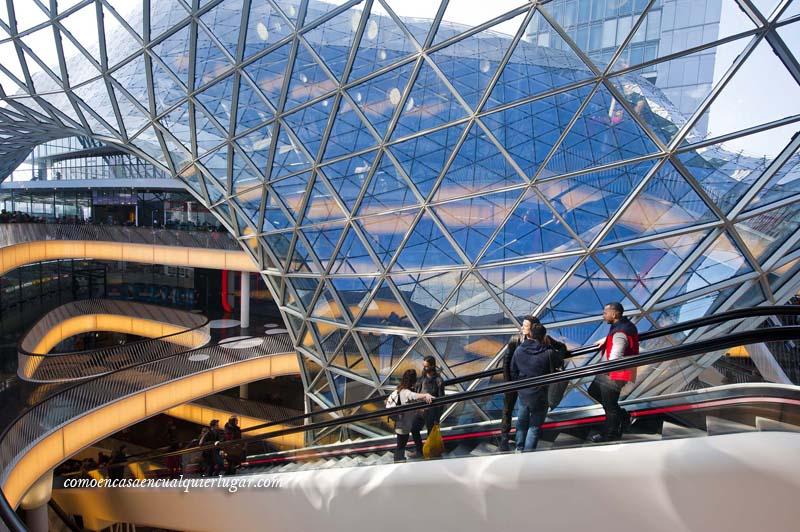 Centro comercial Myzeil Frankfurt