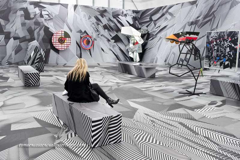 Schirn kunsthalle Museum exposición de Tobias Rehberger Frankfurt