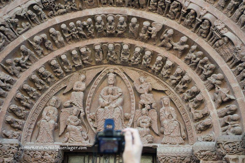 fachada iglesia de santo domingo Soria