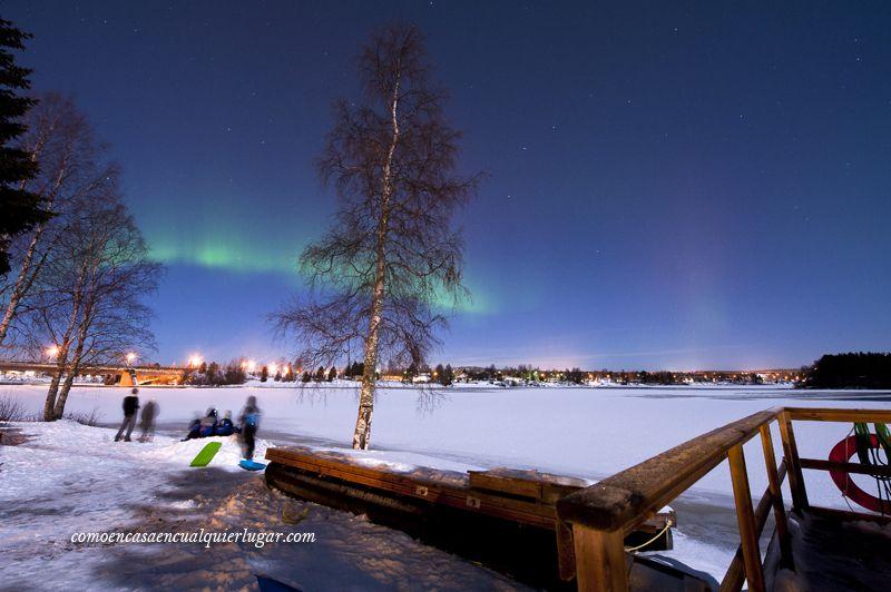 fotografiar auroras boreales