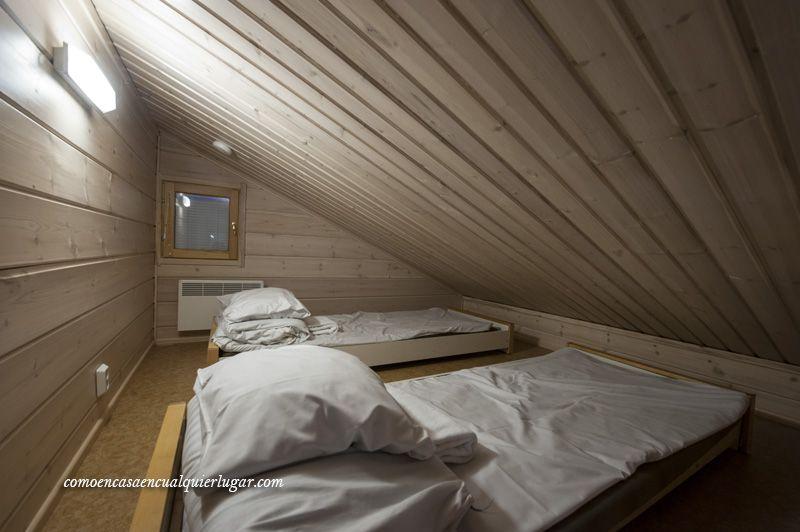 donde dormir en Rovaniemi finlandia
