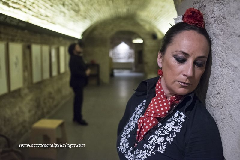 Visita al Museo del baile flamenco de Cristina Hoyos