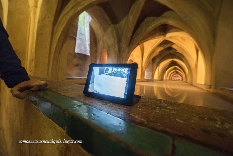 Visita al alcazar de Sevilla en 3D Sevilla inside