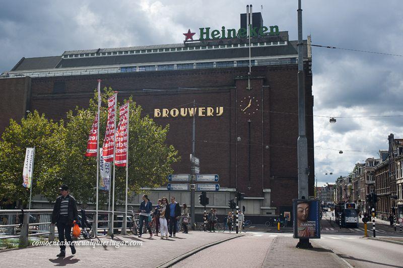 Visita heineken Amsterdam