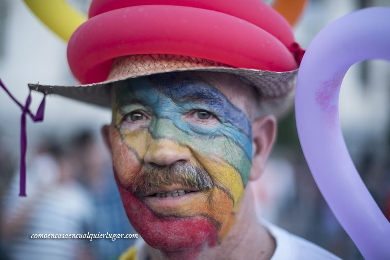13 retratos del Orgullo gay en Madrid