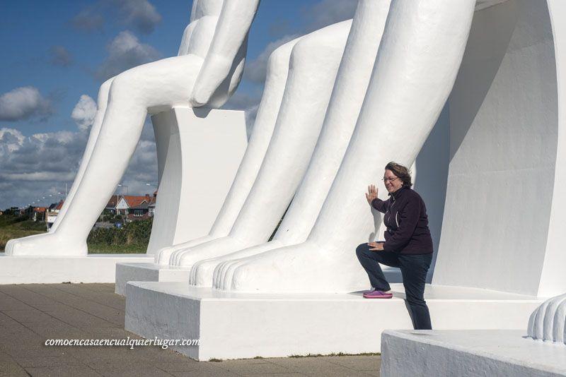el hombre encuentra el mar en Esbjerg Dinamarca Svend Wiig_foto_Miguel Angel Munoz Romero_006
