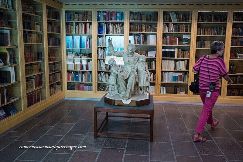 Hans Christian Andersen en Odense