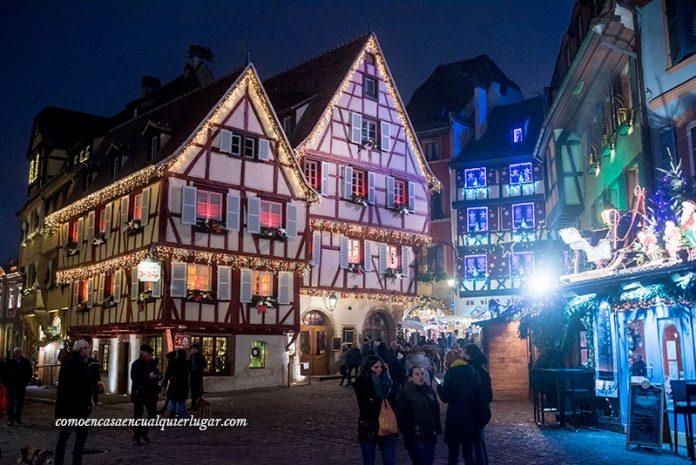 Mercadillos de navidad en Colmar