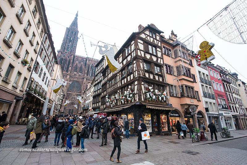 Mercadillos de navidad Estrasburgo