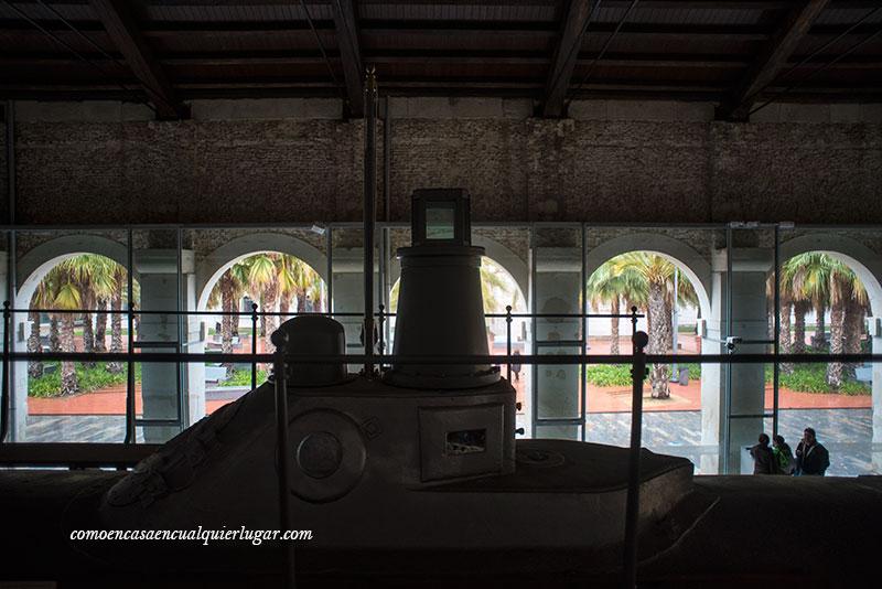 El submarino de Isaac Peral en Cartagena