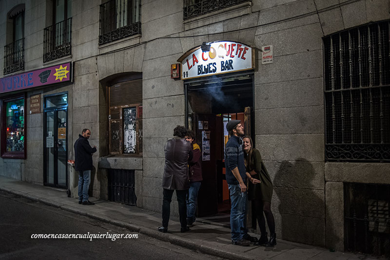 La coquette Blues Bar en Madrid