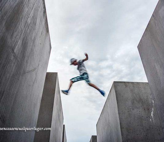monumento al holocausto judio en berlin