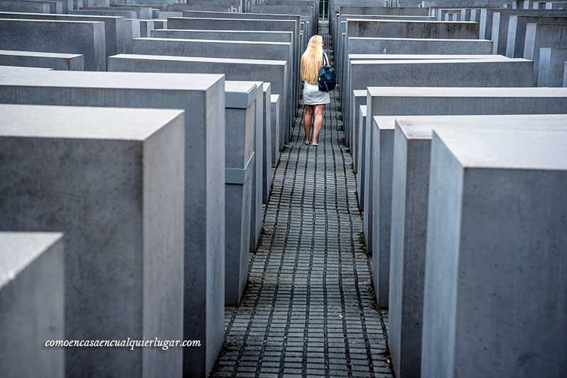 Monumento al holocausto judío en Berlín
