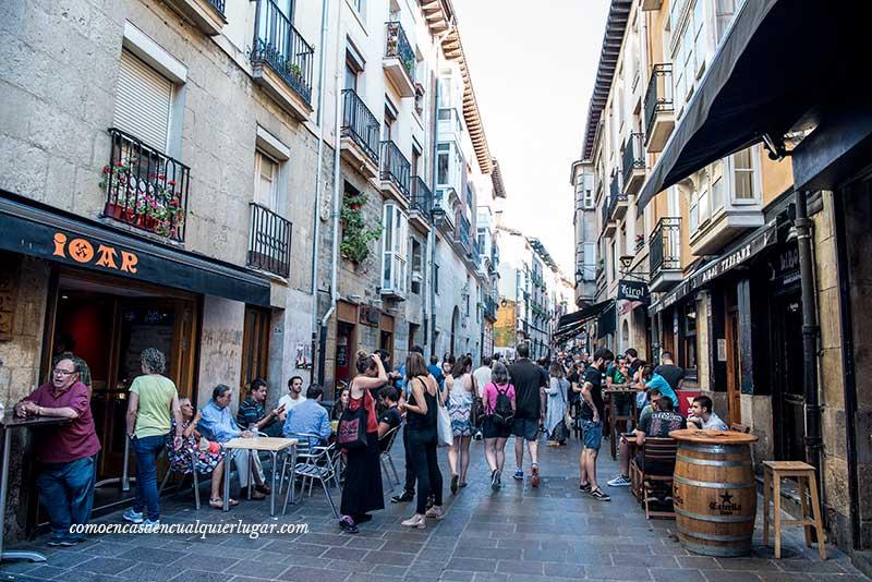 calle cuchilleria Vitoria Gasteiz
