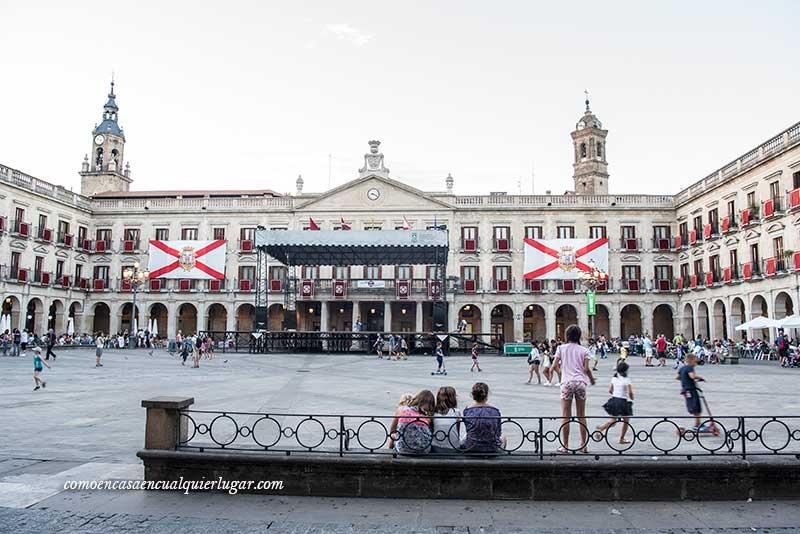Plaza de espana Vitoria Gasteiz