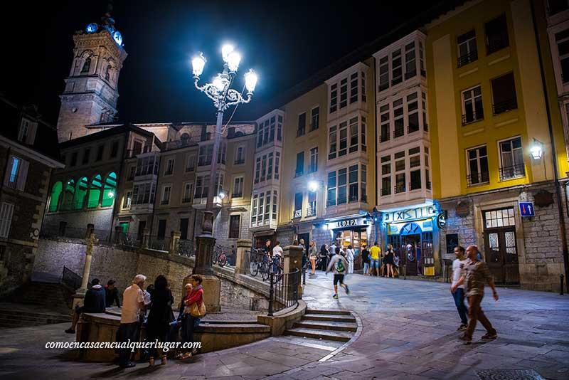 Vitoria Gasteiz calle cuchilleria