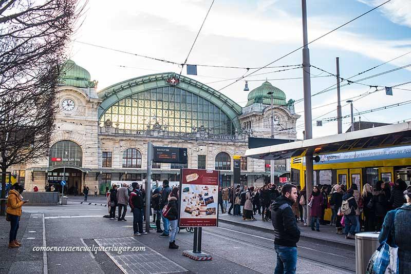viajar a basilea Estación de Basilea SBB