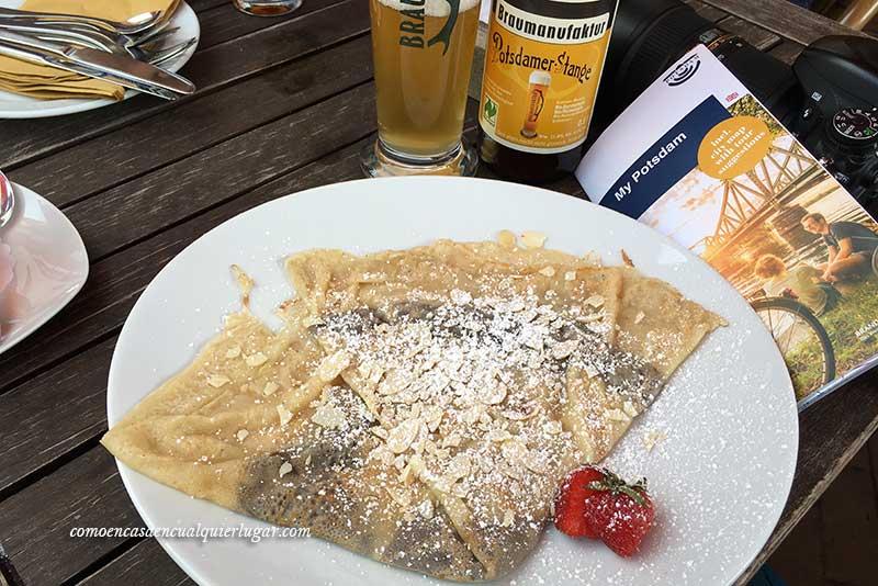 Excursión de un día de Berlín a Potsdam barrio holandes cerveza potsdamer