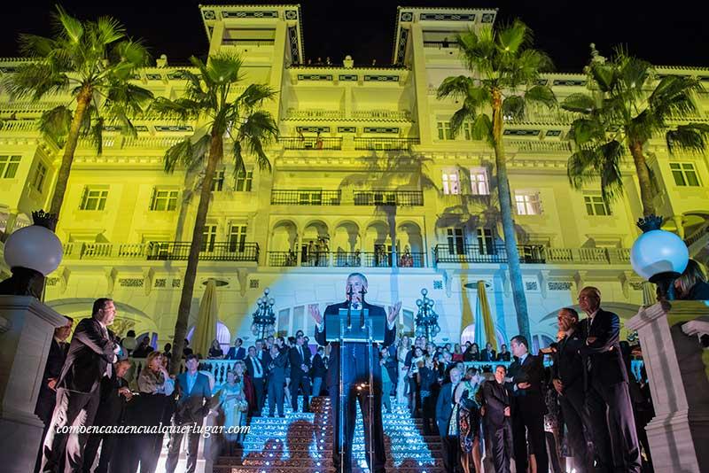 hotel miramar málaga Presidente de Hoteles Santos, José Luis Santos