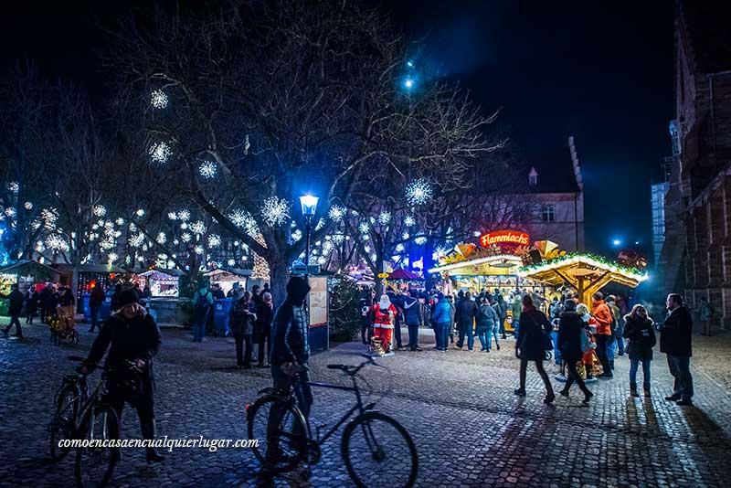 Mercadillo de navidad en Basilea