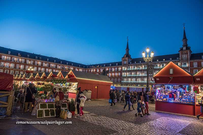 navidad en madrid plaza mayor
