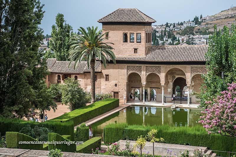 alhambra en Granada El Partal