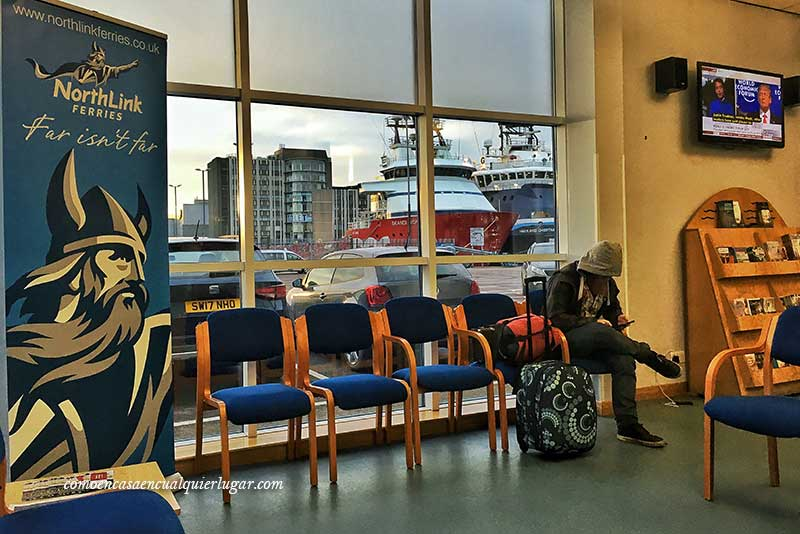 qué ver en Lerwick Northlink Ferries