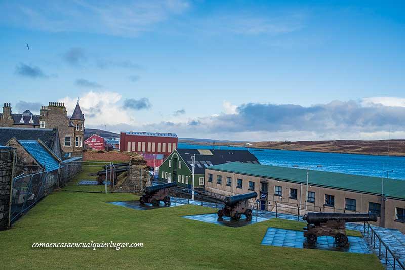 qué ver en Lerwick Fort charlotte