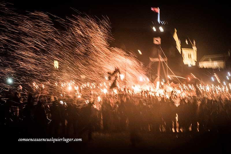 qué ver en Lerwick fiesta vikinga Up Helly Aa