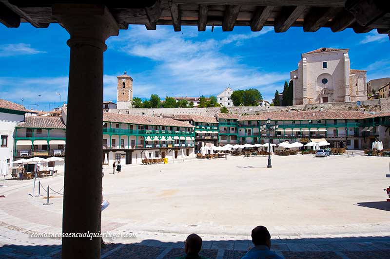 escapadas en coche por Madrid Chinchon