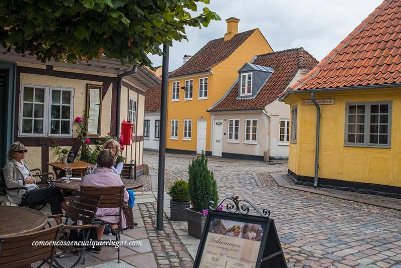 qué ver en Odense Nedergade