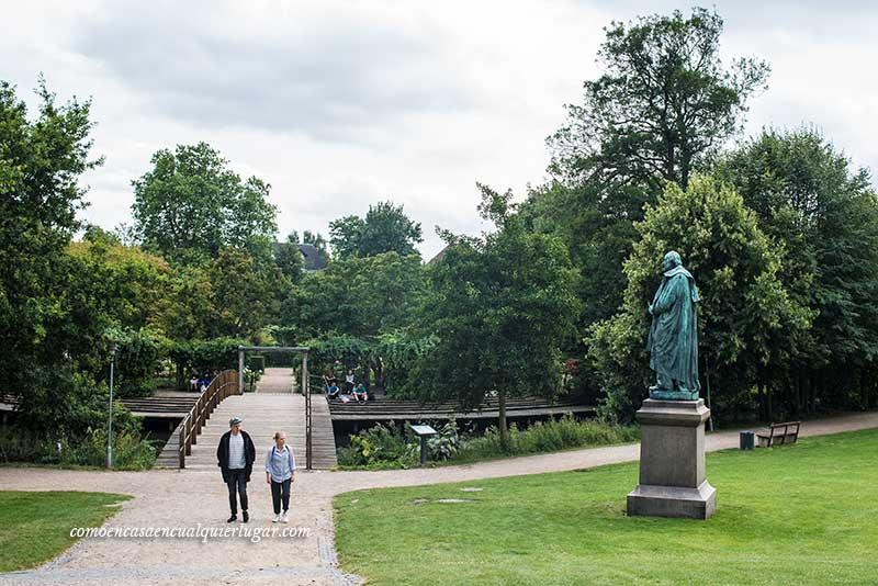 qué ver en Odense parque Kongens Have