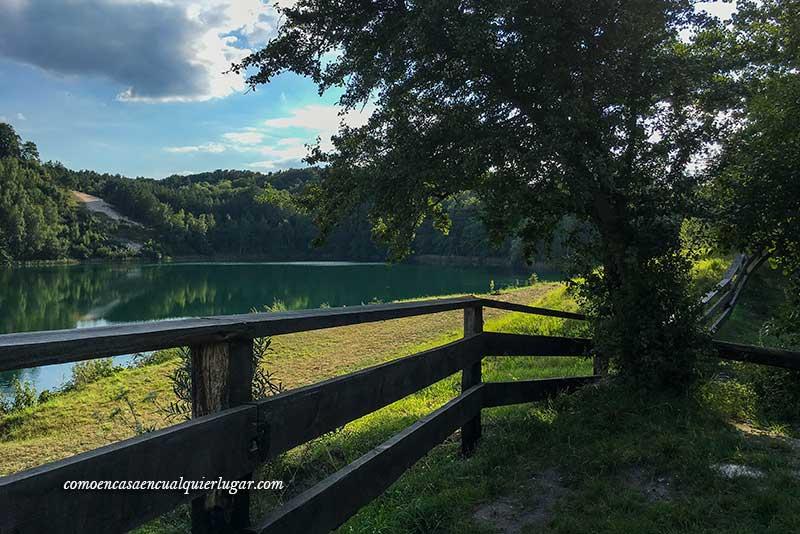 Que ver en la isla de Wolin lago Turkusowe
