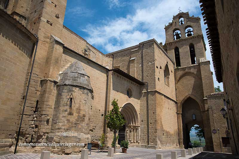 Puerta de San Juan y Iglesia de San Juan qué ver en laguardia