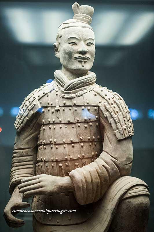 Los guerreros de terracota de Xian China