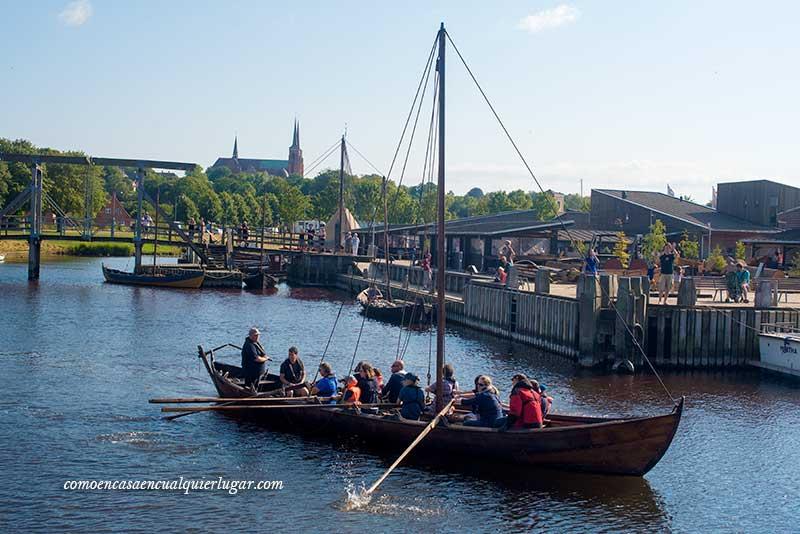 La ruta vikinga de Dinamarca Roskilde